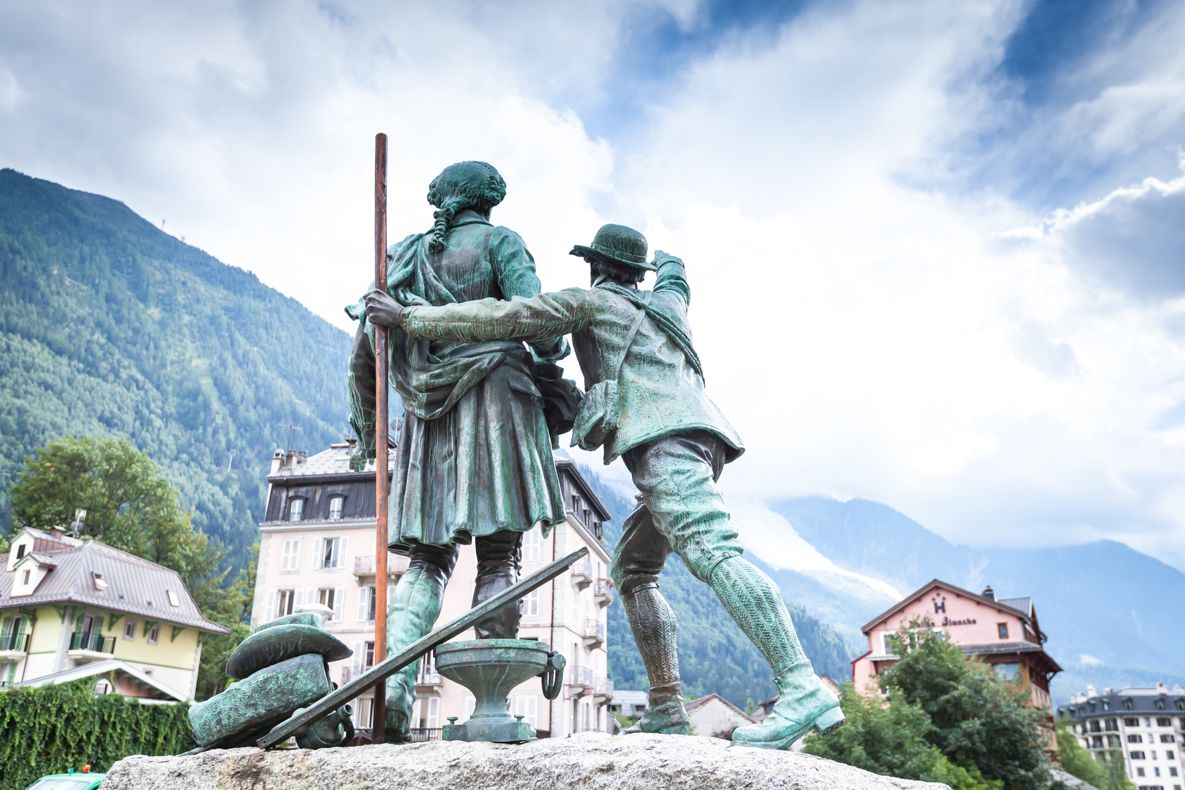 Chamonix - monument